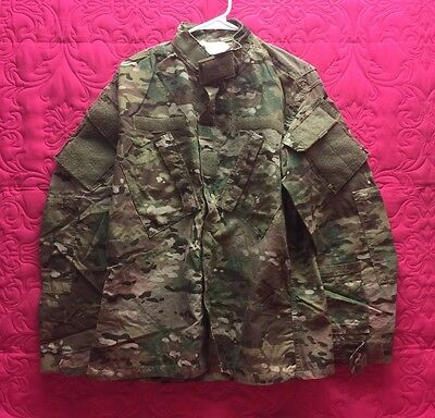 Army Combat Uniform MULTICAM Coat Flame Resistant Medium Short NWT