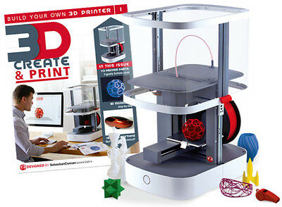 Print and create 3D printer components (Job Lot)
