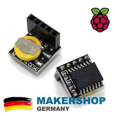 Real Time Clock RTC DS3231 IIC mit Batterie Modul Temperatur Raspberry Pi