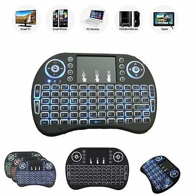 Mini Tastiera WIRELESS WIFI USB mouse Touchpad  Android SMART TV 2,4GHz tablet