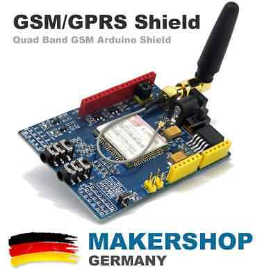 GSM GPRS A6 Shield Quad-Band 850 / 900 / 1800 / 1900 MHz