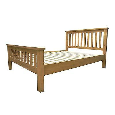 Aylesbury solid chunky pine furniture 3' single bed