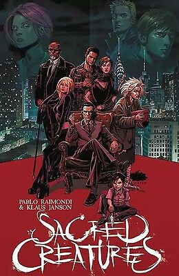 SACRED CREATURES #1 (2017) CVR A RAIMONDI (MR) image comics NM
