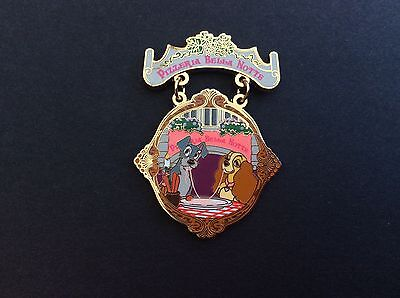 LIMITED EDITION Lady and the Tramp Disney Pin (The Gourmet Pin Event - 2011)