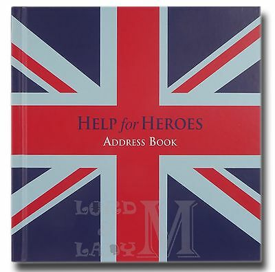 Help For Heroes Square Address And Birthday Book - Perfect Gift