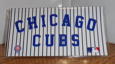Chicago Cubs Checkbook Cover. Baseball....free Shipping