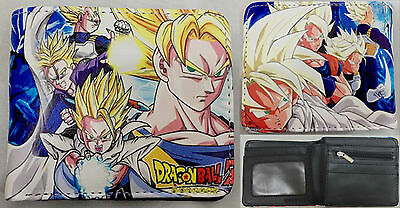 Dragon Ball Z Super Saiyan Wallet USA SELLER!!! FAST SHIPPING!