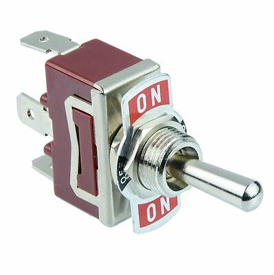 5 x (On)-Off-(On) SPDT Toggle Switch 250V AC 15A
