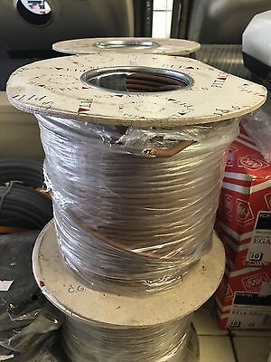 Job Lot 30 Rolls Of Pitacs Single Core Cable Brown 4.0mm2 100m Reel