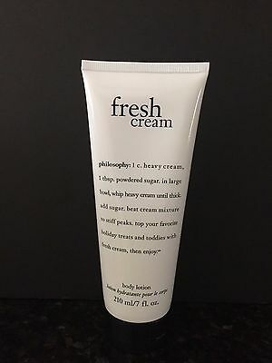 Philosophy Fresh Cream 7 fl. oz. Body Lotion/NEW AND SEALED/2 Available