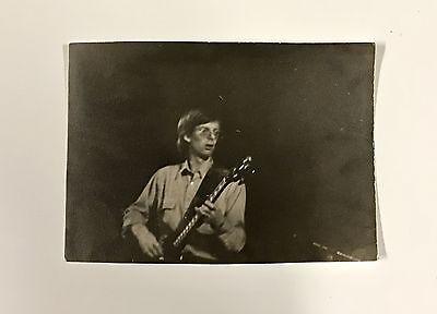 ORIGINAL 1969 Grateful Dead Phil Lesh Concert Photo Mississippi River Fest