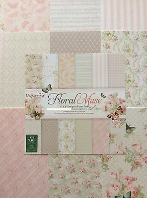 Dovecraft Floral Muse - 6x6 Paper  - Sample 12 Sheets