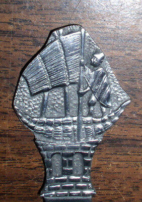 Vintage Bolivian Collectible Pewter Exquisite Letter Opener, Made In Bolivia