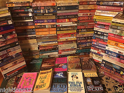 WHOLESALE BOOKS 300ct ROMANCE PAPERBACK Passion Novels SUSPENSE DESIRE FICTION