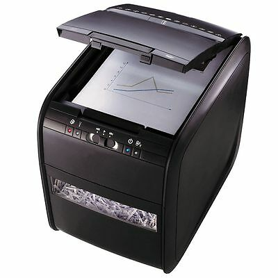 Rexel 80X Paper Shredder Stack and Shred Auto Feed Cross Cut Paper Slicer
