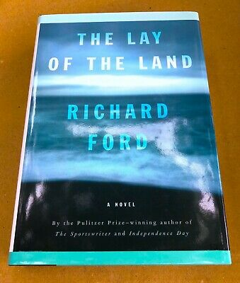 Rare SIGNED 1st Edition Richard Ford THE LAY OF THE LAND 1st 1st Harry Bascombe