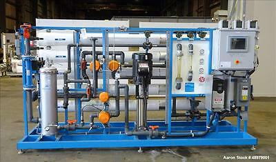 Used- Smith Engineering 50 Gallon Per Minute Single Pass Reverse Osmosis System