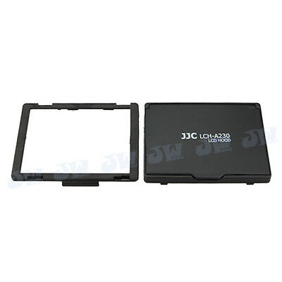 JJC PopUp LCD Hood Screen Guard for Sony A230 A290 A330 A380 A390 as SONY SH-L1A