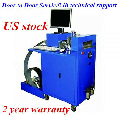 US-Ving CNC Notching Notcher Machine for Metal Channel Letter, Single Side Notch