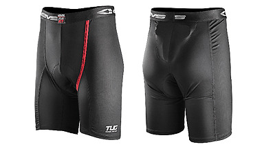 L Large EVS TUG Adult Compression Vented Shorts MX Motocross Armour Motorbike