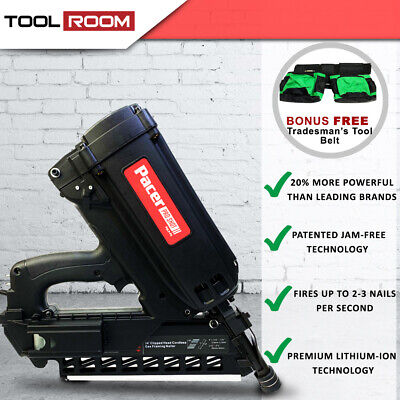 Pacer Cordless Gas Framing Nail Gun