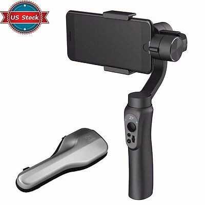 US Zhiyun Smooth-Q 3-Axis Handheld Gimbal Stabilizer for Smartphone iPhone Black