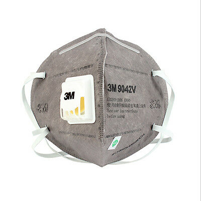 3M 9042V PM2.5 Folding protection face mask Activated carbon respirator