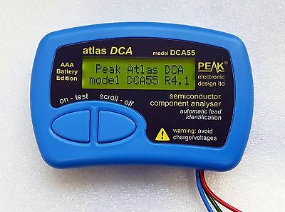 Peak Atlas Semiconductor Component Analyser (AAA EDITION) - DCA55 - Made in UK