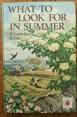 Classic Ladybird Book Series 536 What To Look For In Summer