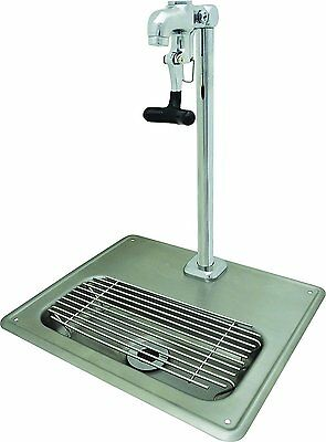 BK Resources Stainless Steel Glass Filler Water Station with Faucet