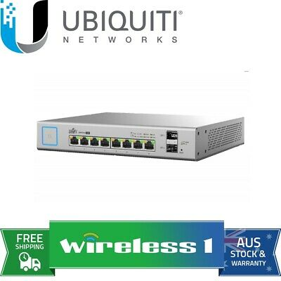 Ubiquiti UniFi US-8-150W Switch 8-150W Managed PoE+ Gigabit Switch with SFP
