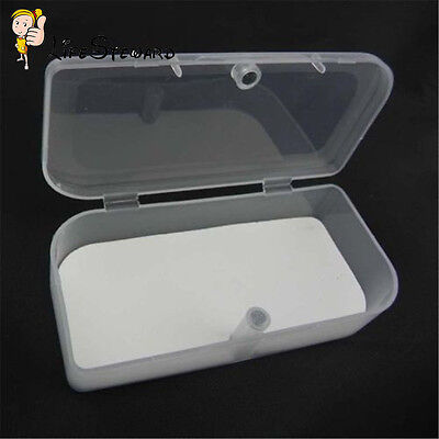 Plastic Clear Transparent Collection Container Case Storage Box Organizer