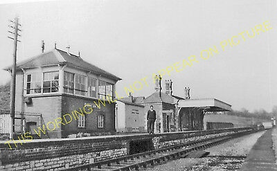 Pensford Railway Station Photo. Brislington - Clutton. Bristol to Radstock. (4)