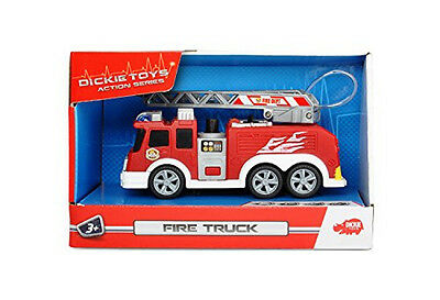 dickie toys action series fire truck feuerwehrauto mit licht und sound eur 10 99 picclick de. Black Bedroom Furniture Sets. Home Design Ideas