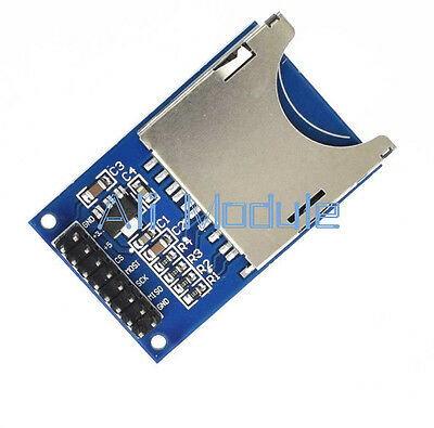 2PCS SD Card Module Slot Socket Reader For Arduino ARM MCU Read And Write NEW
