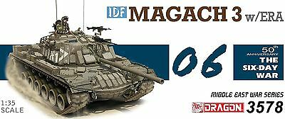 Dragon 1:35 3578: Panzer IDF Magach 3 w/ERA