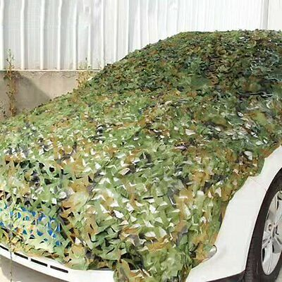 Camouflage Net Army Military Camo Car Covering Tent Hunting Blinds Netting EW