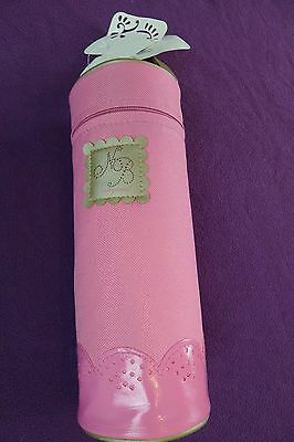 Mayoral Two Baby Pink Zip Thermal Insulated Bottle Hanging Bag Holder,cool/ Warm