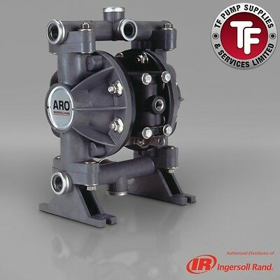"1/2"" ARO Ingersoll-Rand Air Diaphragm Pump (Poly/Sant) 