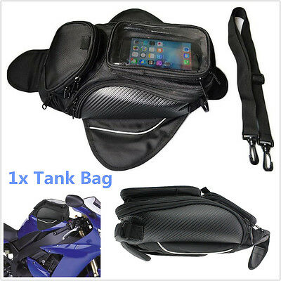 1Pcs Universal Waterproof Magnetic Motorcycle ATV Bike Oil Fuel Tank Bag Luggage