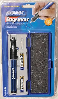 Kincrome Engraver Tool Pen Electric Engraving Metal Carve Wood Glass Jewellery