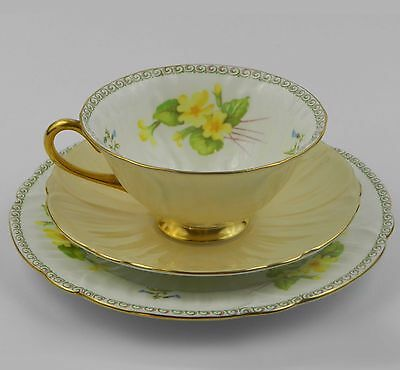 Tea cup Shelley Oleander Shape Trio