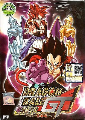 DVD Dragon Ball GT Vol.1-64 End Complete English DUBBED Anime FREE SHIP TO USA