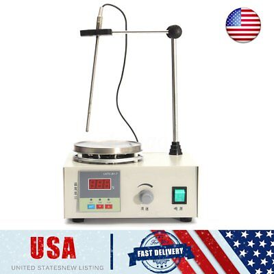 85-2 220V Magnetic Stirrer with Heating Plate Hotplate Digital Heating Lab Mixer