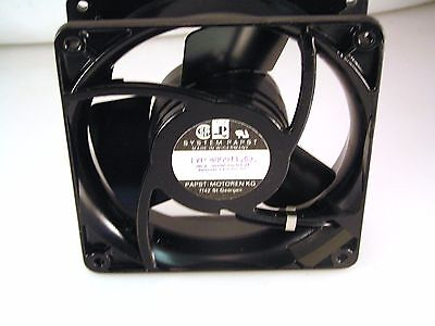Papst 4800N 115V AC Axial 9.5W Low Noise Fan 32 dBA IP54 OL0332d
