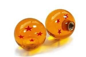 Manual Gear knob dragon ball with adapter To Suit Most Vehicles 4 star JDM