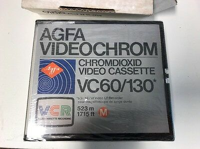 AGFA Videochrome VC60/130 (NEW In Seal) For Philips N1500 & N1700