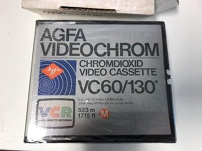 AGFA Videochrome VC60/130 (NEW In Seal)