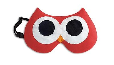 Red Stella Owl Unscented Chill & Heat Soothing Eye Mask In Presentation Box