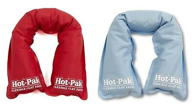 Hot Pak Innovative Holistic Remedy Blue Or Red Flexi Clay Thermo Therapy Pack